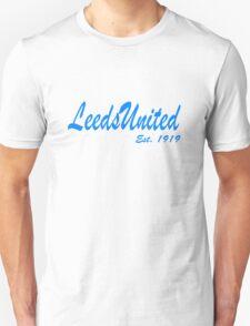 Leeds United, Est. 1919  T-Shirt
