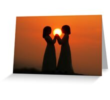 Peace, Love and Friendship Greeting Card