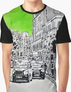 Splash Cities - London 03 - Long Acre Graphic T-Shirt