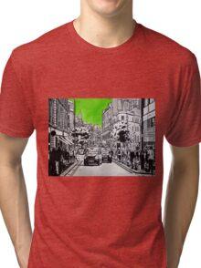Splash Cities - London 03 - Long Acre Tri-blend T-Shirt