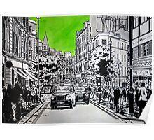 Splash Cities - London 03 - Long Acre Poster