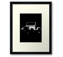 Jeep 1980, CJ-5 Renegade Framed Print