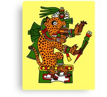 Jaguar Warrior - Codex Borgia Canvas Print