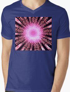 Pink Carnations Mens V-Neck T-Shirt
