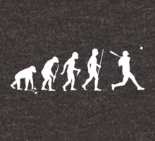 Funny Baseball Evolution T Shirt by movieshirtguy