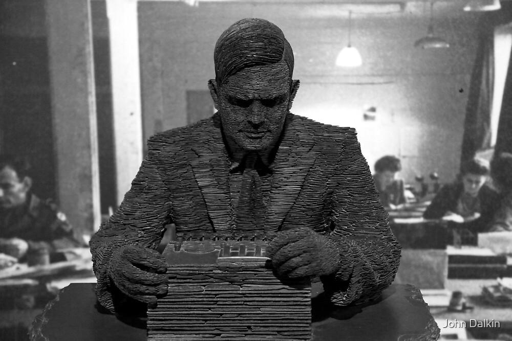 Alan Turing Statue by John Dalkin
