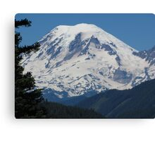 Remarkably Free - Majestic Mount Rainier Canvas Print