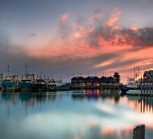 Fremantle Port Glow by Ben Reynolds