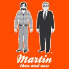 Martin, then and now by AlainB68