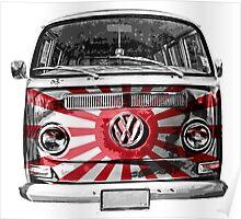 JAPAN VW van Poster