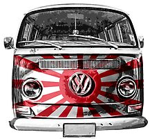 JAPAN VW van by benbdprod