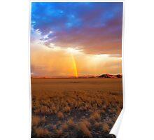 Lighting up the Desert Poster