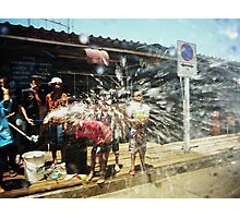 Songkran Photographic Print