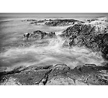 Gooseberry Beach, Newport, RI Photographic Print