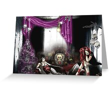A Gothic Christmas Greeting Card