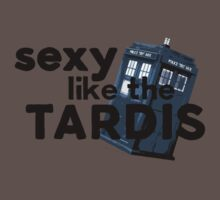 Sexy like the TARDIS by maezors