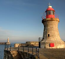 lighthouse x 2 by Great North Views