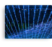 Blue Sprinkles Canvas Print