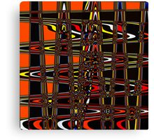 colored stipes Canvas Print