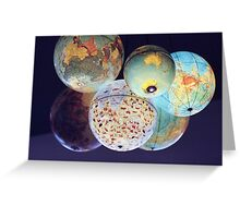 Globes Greeting Card
