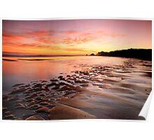 South Shields Beach Poster