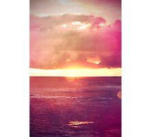 Calm Sunset Photographic Print