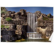 South Marine Park Waterfall Poster