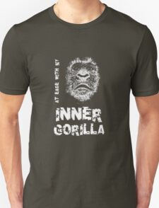 At Ease With My Inner Gorilla T-Shirt