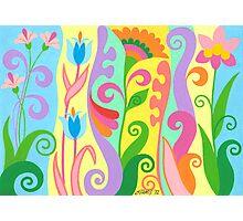 FLOWER FESTIVAL Photographic Print