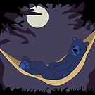 Hammock Bear by jellibat