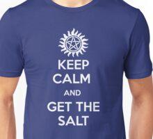 Keep calm and get the salt - dark Unisex T-Shirt