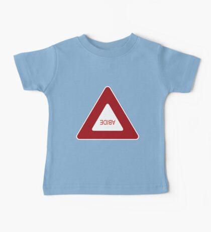 Abide - invert Baby Tee