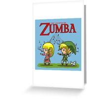 The Legend of Zumba Greeting Card