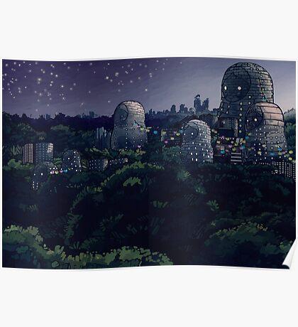 The Magic City - Night Poster