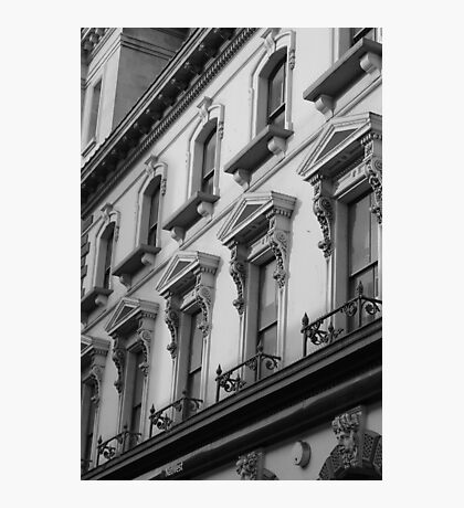 Cardiff street building Photographic Print