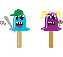 Polly Popsicles  Photographic Print