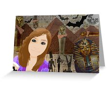 Collage Portrait Greeting Card