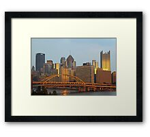Golden Hour Framed Print