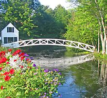 Somesville Foot Bridge by Jack Ryan