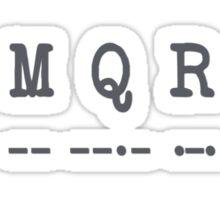 U:M:Q:R:A Sticker