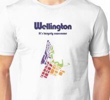 Wellington. It's Largely Awesome Unisex T-Shirt