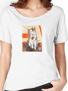 Cat big heart Women's Relaxed Fit T-Shirt