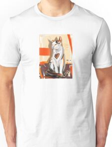 Cat big heart Unisex T-Shirt