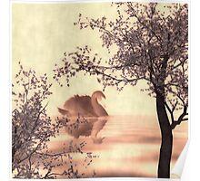 Japanese Lake Poster
