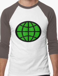 Captain Planet Planeteer Men's Baseball ¾ T-Shirt