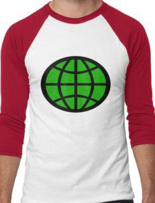 Captain Planet Planeteer Men's Baseball ¾ T-Shirt