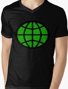 Captain Planet Planeteer Mens V-Neck T-Shirt