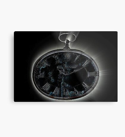 Marked hands of time Metal Print
