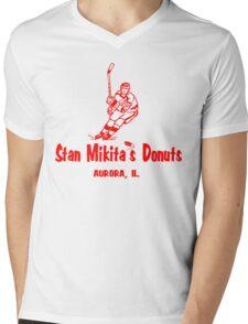 Stan Mikita Donuts Mens V-Neck T-Shirt