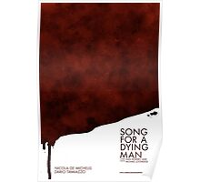 Song for a dying man, Blood Poster Poster